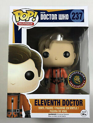 Funko POP! Doctor Who BGV EXCLUSIVE Spacesuit Eleventh 11th Space Suit NIB # 237