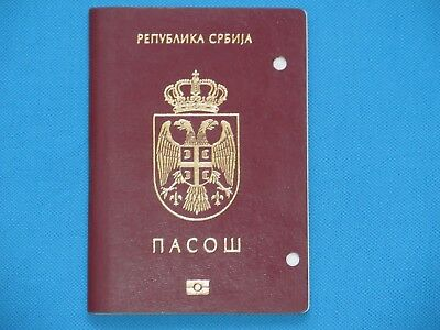 Serbia 2014 EXPIRED BIOMETRIC PASSPORT FROM SERBIA 2014