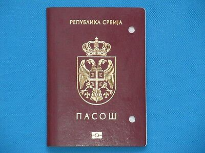 Serbia 2015 EXPIRED BIOMETRIC PASSPORT FROM SERBIA 2015