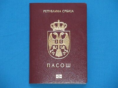 Serbia 2010-2020 EXPIRED BIOMETRIC PASSPORT FROM SERBIA, PERFECT!