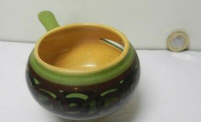 A Vintage  Egg separator by Brixham Pottery Devon