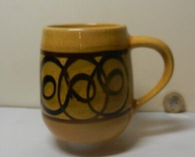 A Vintage  Mug by Brixham Pottery Devon