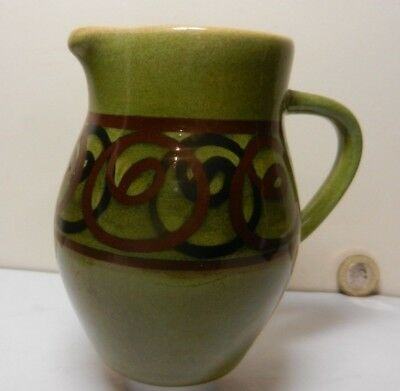 A Vintage  Jug by Brixham Pottery Devon
