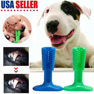 Dog Toothbrush Pet Molar Brushing Stick Teeth Cleaning Toy Oralcare Effective US