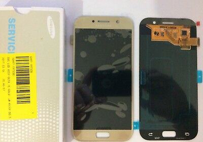 Display Lcd + Touch Screen Originale Samsung Galaxy A5 2017 A520F Sm-A520F Gold