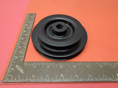 Double steel stepped V pulley wheel 127mm & 102mm OD LOTD2M99