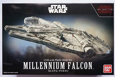 "BANDAI 1/144 Millennium Falcon ""Star Wars The Last Jedi"" scale model kit"