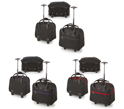 Compass Small Underseat Cabin Hand Luggage Trolley Bag Kids/Children Weekend Bag
