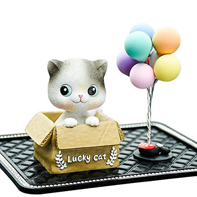 Kerr's Choice Hand-Painted Sculpted Resin Cat Figurine ❤Great Cat Gift for Cat