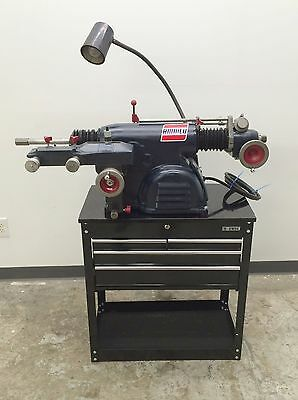 NICE Used Ammco 4000 Disc & Drum Brake Lathe Loaded w/ Tooling & Toolbox