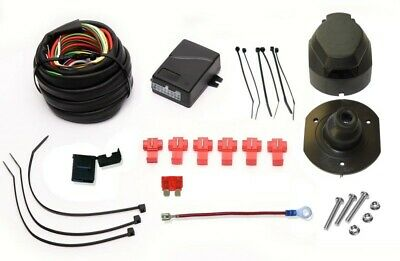 13pin Towbar Electrics Wiring + Bypass Relay for Nissan X-Trail T32 2014 On