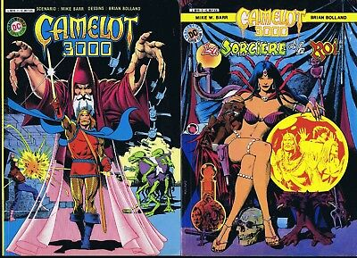 Camelot 3000 complet vol 1-2-3-4-5 Mike Barr Brina Bolland TBE 1984