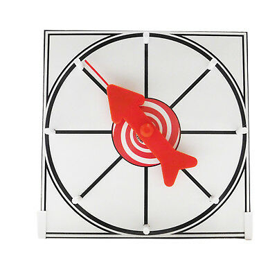 Prize Wheel 12 inch White Face Table Top Dry Erase Spinner Game