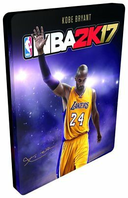 NBA 2K17 Steelbook Case (No game included) *Brand NEW*