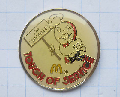 M / TOUCH OF SERVICE ........... Mc Donald´s-Pin (108f)