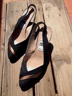 VINTAGE SHOES SCARPE Schuhe Chaussures Zapatos DONNA 37,5 NORMA J•BAKER NEW YORK