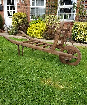 antique wheelbarrow rustic