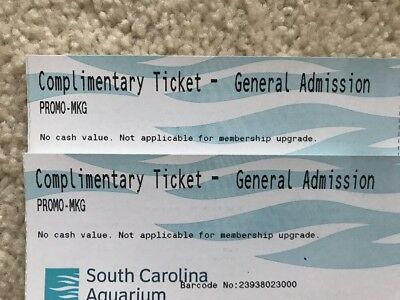 South Carolina Aquarium Adult Full Admission 20% Off Tickets