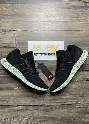 ADIDAS Y-3 RUNNER 4D Black White Futurecraft Aq0357 Only 200 Made ... 19fb3ebcc