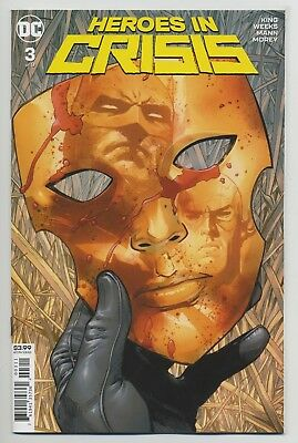 HEROES IN CRISIS #3 DC comics NM 2018 Tom King Clay Mann 🔷🔹 VERY LAST 1