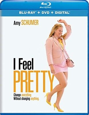 I Feel Pretty w/ Amy Schumer (Blu-ray + DVD, + Digital, 2018) New