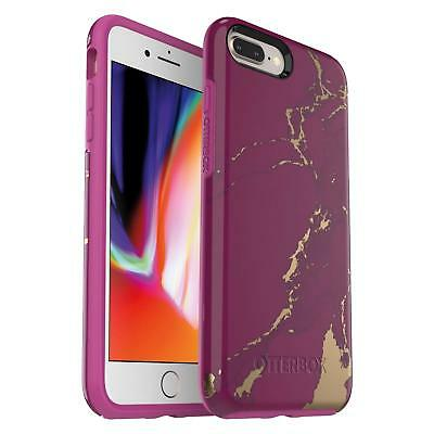 OtterBox Symmetry Series Case for iPhone 8 Plus & iPhone 7 Plus (Purple Marble)