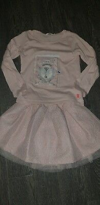 Girls Age 4 Billieblush Outfit Skirt And Top