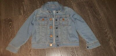 Girls Age 4 Gap Denim Jacket