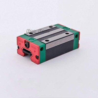 HGH15CA HIWIN Linear Guide Block Carriage HGR15 Rail C02 Laser Cutter CNC Router