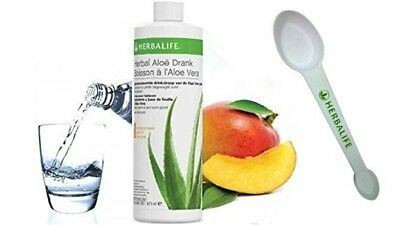 Herbalife Aloe Concentrate Mango and Original Flavors 473 ml + GIFT
