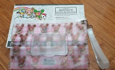 NEW Wipouch x tokidoki refillable baby wipe pouch Donutella 30