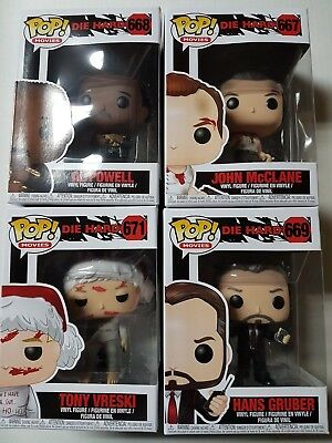 Die Hard Funko Pop Figures Brand New -YOU PICK FROM LIST