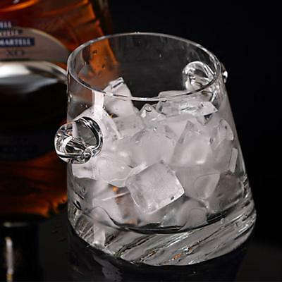 1pc Squar Reusable Stainless Steel Ice Cubes Metal Scotch Whisky Wine Ice Stone