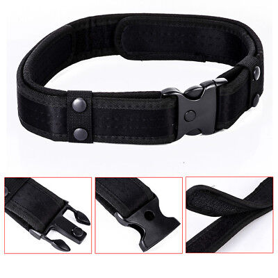 """2"""" Outdoor Utility Tactical Police Security Tactical Combat Gear Nylon Duty Belt"""