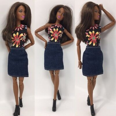 handmade clothes for made to move  fashionistas Barbie doll