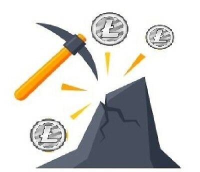 Scrypt Litecoin Mining Contract 500 MHs - 168 Hours (7 days) Antminer L3+