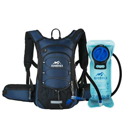 RUPUMPACK Insulated Hydration Backpack Pack BPA Free 2L Water Bladder - Keeps...