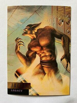 Fleer Ultra Spider-Man 1995 Marvel Card #69 Jackal
