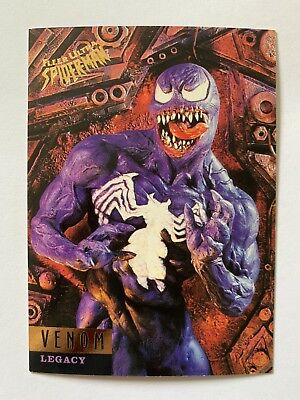 Fleer Ultra Spider-Man 1995 Marvel Card #83 Venom