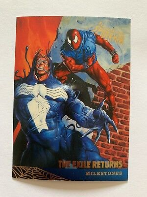 Fleer Ultra Spider-Man 1995 Marvel Card #94 The Exile Returns