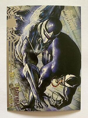 Fleer Ultra Spider-Man 1995 Marvel Card #101 Venom V Darkhawk