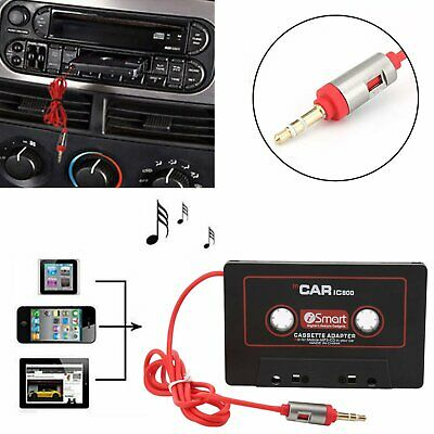 Car Tape Cassette AUX Audio Adapter Audio for iPhone iPod MP3 MP4 Player Stereo