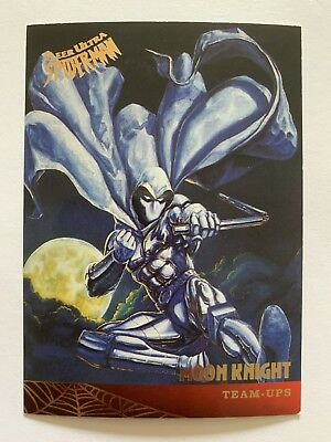 Fleer Ultra Spider-Man 1995 Marvel Card #122 Moon Knight