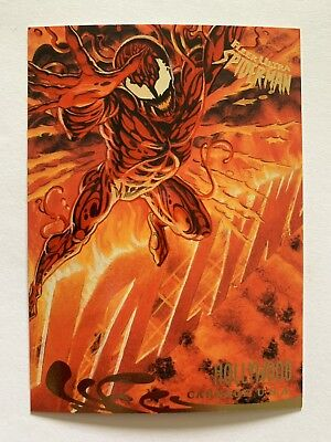 Fleer Ultra Spider-Man 1995 Marvel Card #140 Venom
