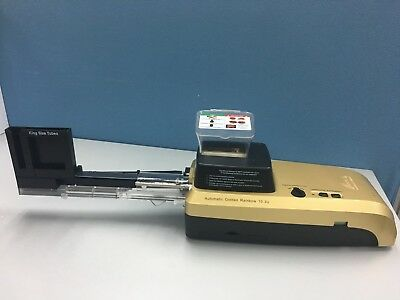 **New** Hspt Golden Rainbow 10.3U  Cigarette Rolling Machine *Special*