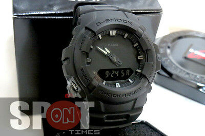Casio G-Shock Matt Black Men's Watch G-100BB-1A