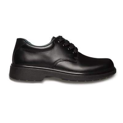 Clarks Daytona Black Jnr School Shoe Shoes
