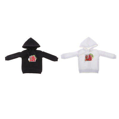 12inch Stylish Casual Hooded Sweatshirt Pullover Tops Tee Costume For Blythe
