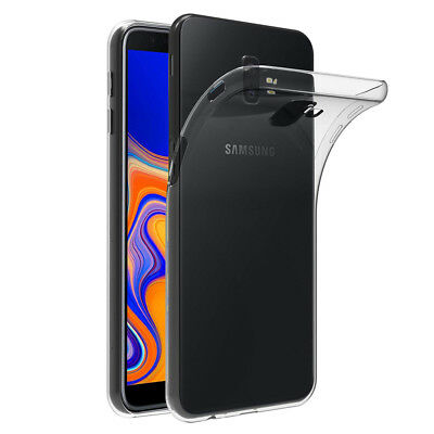 Coque Silicone TPU Clear gel Ultra Fine Samsung Galaxy J6+/ J6 Plus (2018) 6.0""