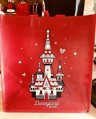Disney Parks Disneyland Resort The Magic Of The Season Holiday Reusable Tote Bag